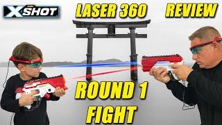 Laser Tag Set | Zuru X Shot Laser 360 Review (Quality GREAT Price)