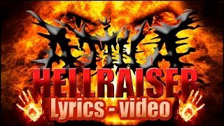 Attila - HellRaiser (Lyrics - video)
