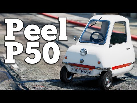 The Famous Peel P50 from TopGear is now in GTA V