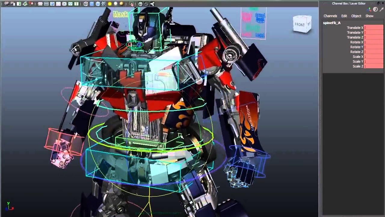 Rigging And 3d Modeling Demo Reel By Eske Yoshinob