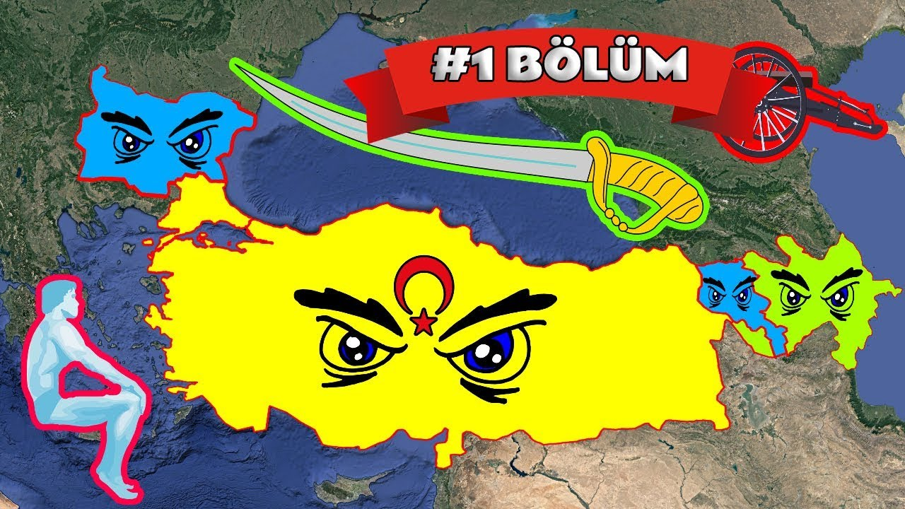 Türkiye, Azerbaycan vs Ermenistan, Bulgaristan ft. Müttefikler, Savaşsaydı? (1. Bölüm)