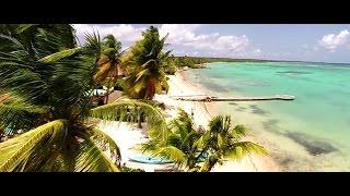 Vidéos par drone des villas de luxe en Guadeloupe à Saint François