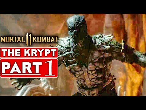 MORTAL KOMBAT 11 KRYPT Gameplay Walkthrough Part 1 Ermac, Reptile & Kenshi - No Commentary