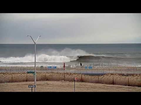 Live Multi-Cam Northeast Surf Check Winter Storm Skylar