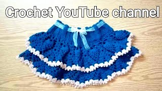 How To Crochet Pineapple Scirt #_