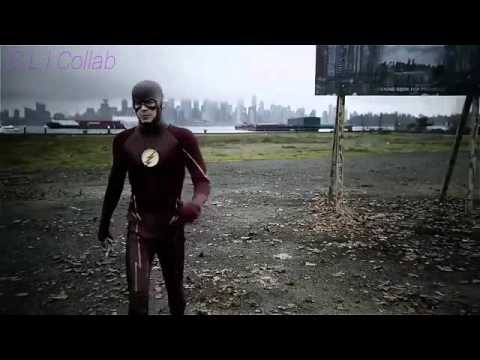 Download Youtube: The Flash travels to earth 38 and saves Supergirl