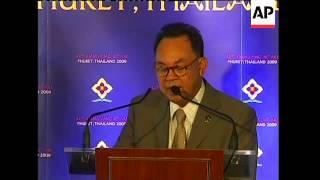Preps ahead of annual Asian Regional Forum; security; Thai FM