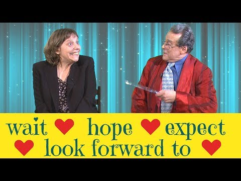 Wait, Hope, Expect & Look forward to - Learn English with Simple English Videos