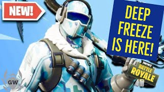 HOW TO GET THE NEW DEEP FREEZE BUNDLE NOW! NEW FROSTBITE SKIN! Fortnite Battle Royale