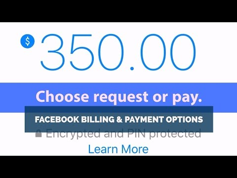 Facebook Send Or Request Money Instructions