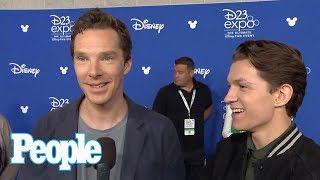 Benedict Cumberbatch Once Ignored Tom Holland After Mistaking Him For A Fan | People NOW | People thumbnail