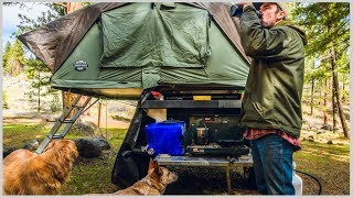 Car Camping Using a Campground Out of Season ⛺