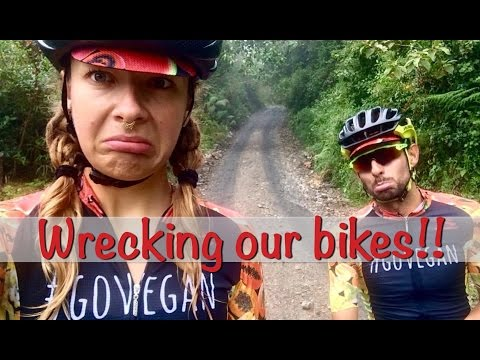 50KM GRAVEL ROAD BIKE DISASTER | Mango Mama