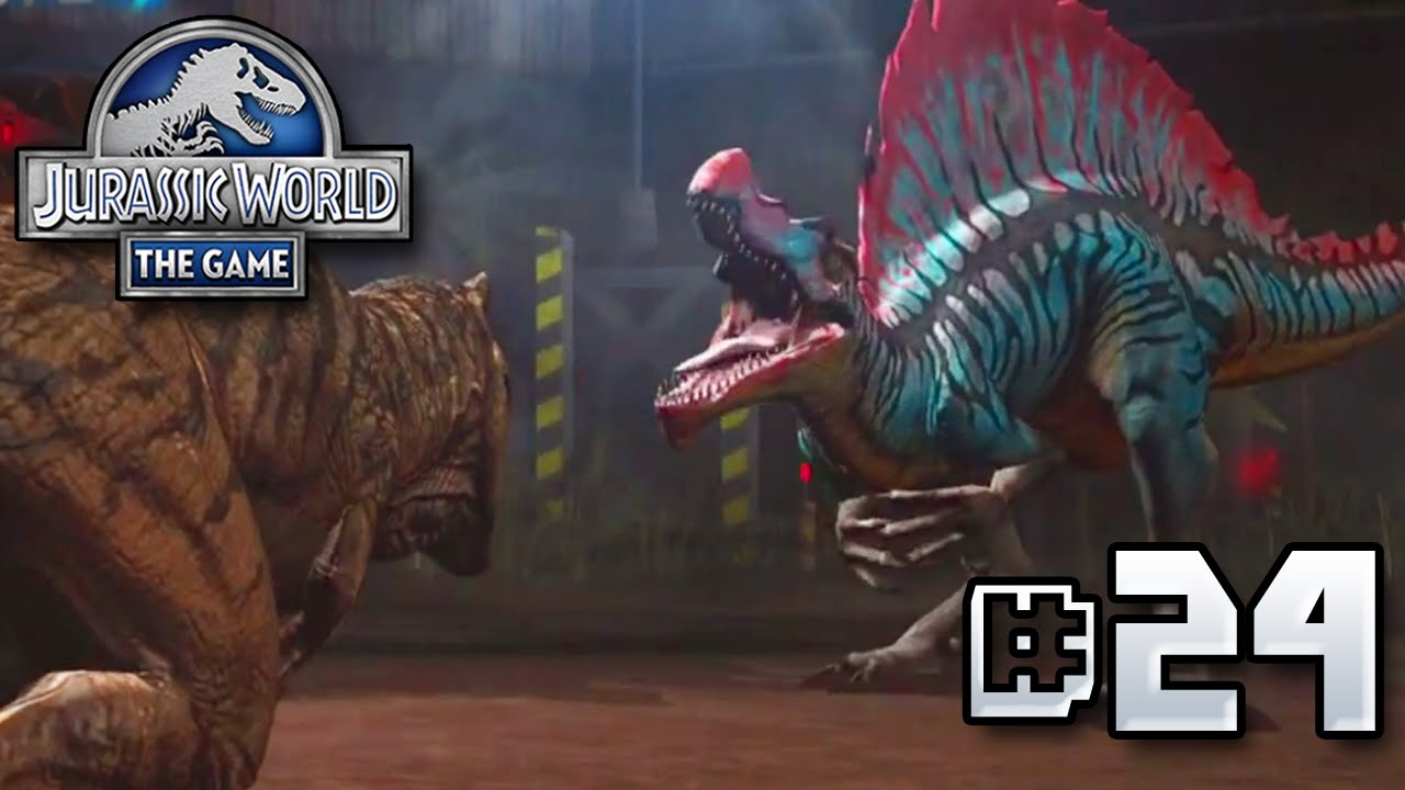 Spinosaurus VS T.rex! || Jurassic World - The Game - Ep 24 HD
