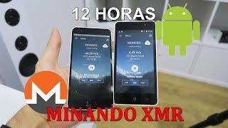 12 horas minando criptomonedas con dos móviles Android ¿es rentable?