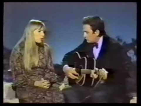 Joni Mitchell & Johnny Cash - The Long Black Veil
