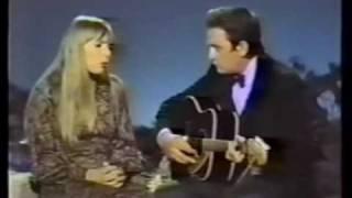 Joni Mitchell & Johnny Cash - The Long Black Veil