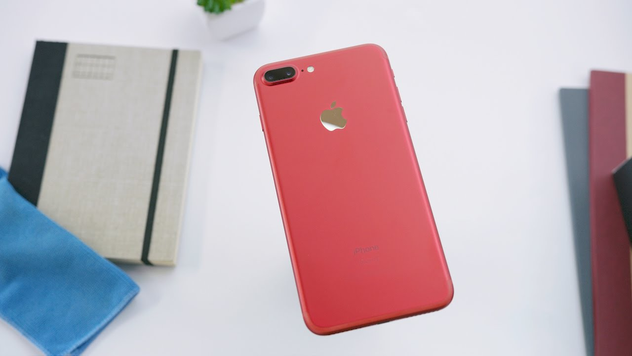 New RED iPhone 7 Unboxing! - YouTube