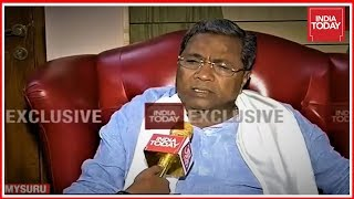 Exclusive : Siddaramaiah Speaks To India Today After Exit Poll Predicts Congress Victory