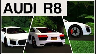 Roblox Ultimate Driving - NEW AUDI R8