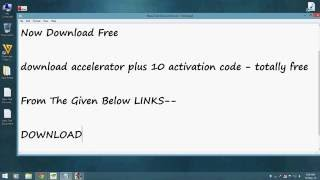 download accelerator plus 10 activation code