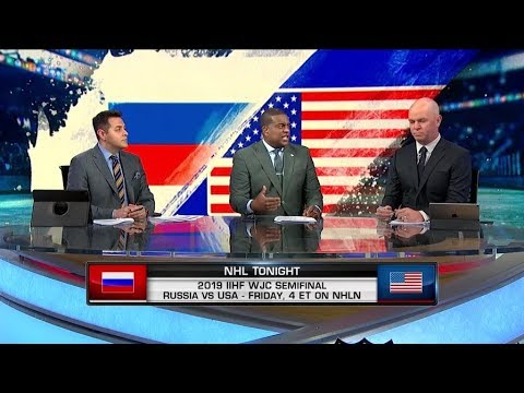 NHL Tonight:  Previewing USA vs Russia in World Juniors semifinals  Jan 3,  2019