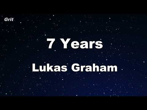 7 Years - Lukas Graham Karaoke 【With Guide Melody】 Instrumental
