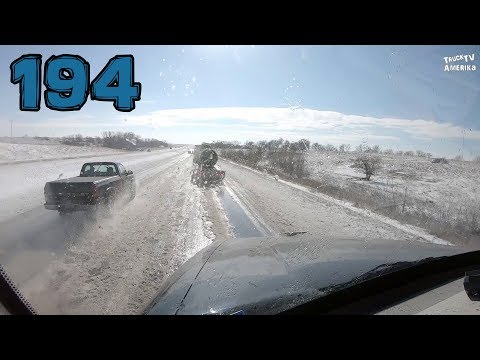nach einem Blizzard in Kansas - Truck TV Amerika #194