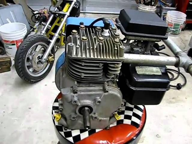 Riding Mower Briggs 5hp Performance Motor Close Up