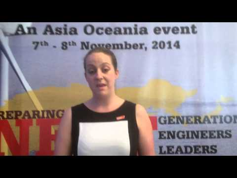 Ruth Shilston, Asia-Pacific Speak Out for Engineering competition 2014