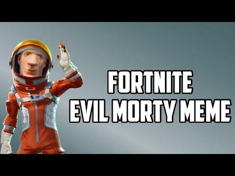 Fortnite Evil Morty Meme - Fortnite FUNNY Memes!