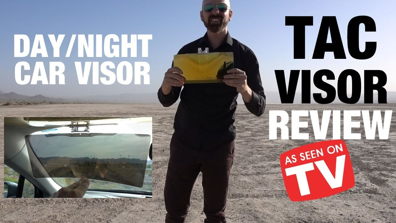 Tac Visor Review: Day/Night Anti-Glare Car Visor