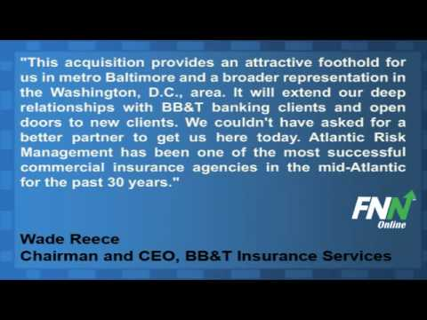 BB&T Insurance Services to Acquire Atlantic Risk Management