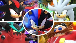 Team Sonic Racing - All Bosses + Cutscenes
