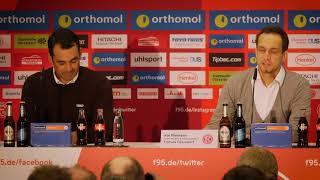 Pressekonferenz nach Fortuna vs. VfL Bochum