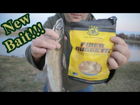 NEW Team Catfish Fiber Nuggets Catfish Bait!!!