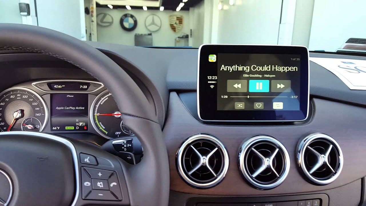 apple car play mercedes benz retrofit youtube. Black Bedroom Furniture Sets. Home Design Ideas