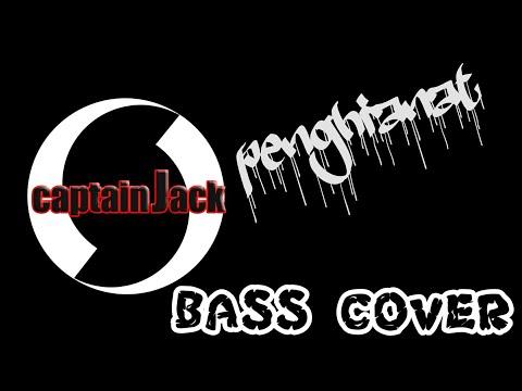 "PENGKHIANAT ""captain jack"" (bass cover)"