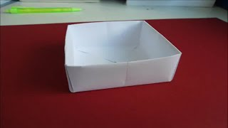 How To Make Origami Easy Open Box
