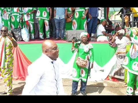 David Mark & other Top PDP dignitaries storms Sen.Adeleke PDP mega Rally in Osogbo,sun In Style thumbnail