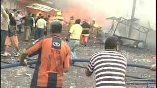 Reportaje Incendio Mercado Hidalgo Veracruz