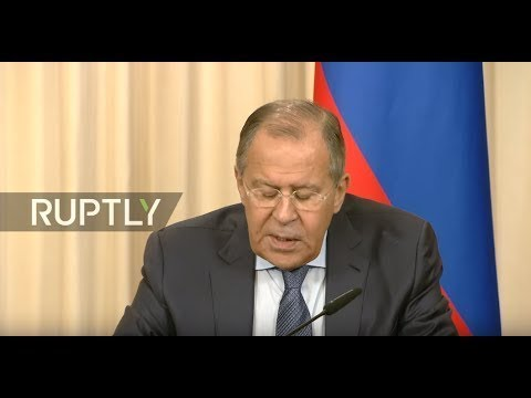 LIVE: Lavrov and Wang Yi hold joint press conference in Moscow - ENGLISH