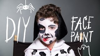 Dog Makeup - Halloween Face Paint
