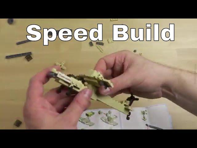 Speed Build: Apache Helicopter von KAZI