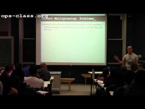 03 Mar 2014: Introduction to Memory Management