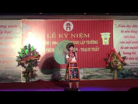 Cô giáo bản em - Ngọc Anh và tốp múa 11A3 - 30 năm ngày thành lập trường THPT Phùng Khắc Khoan