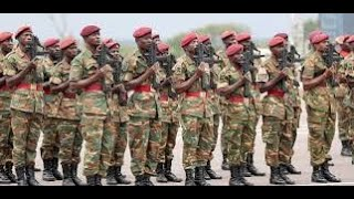 Zambia Army-CHAYA NDONDO- GREEN BUFFALOES Band.