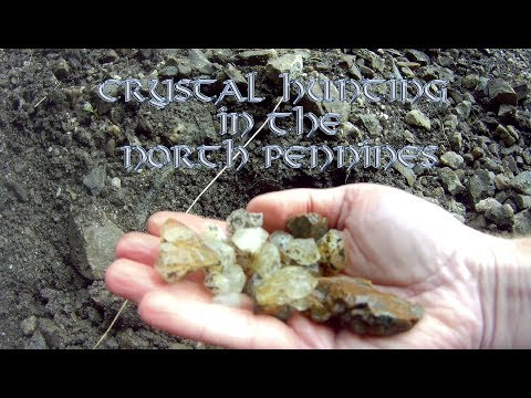 Crystal Hunting in the North Pennines (Summer 2017)