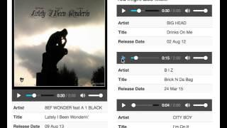 Hip Hop music recommendation