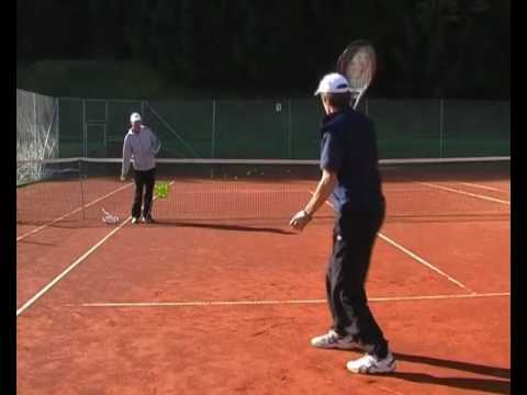 Advanced Tennis Backhand - Drill 4: Develop Spin - Under & Over